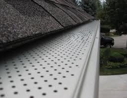 Residential Custom Seamless Rain Gutter Guards Gutter